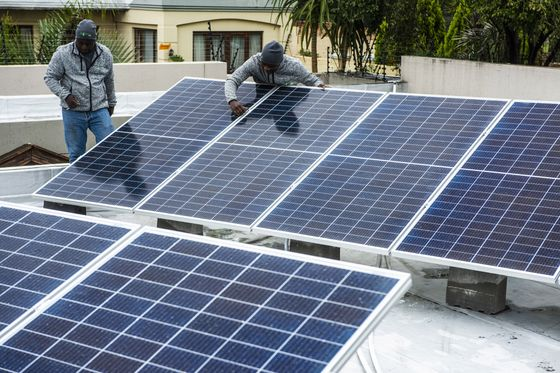 South Africa's Cities to Switch to Solar as Power Monopoly Ends