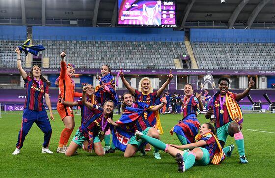 Champions League TV Deal Is Breakthrough for Women's Soccer