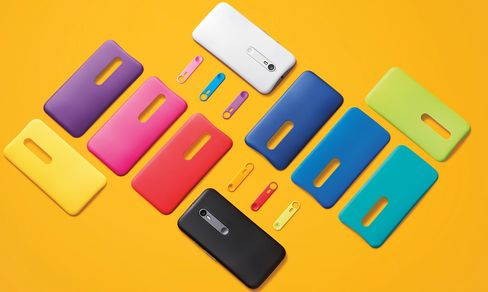 The Moto G with hardware variations.