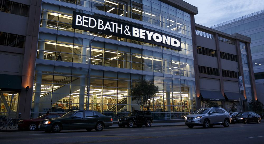 Bed Bath Beyond Falls The Most In Five Years Bloomberg