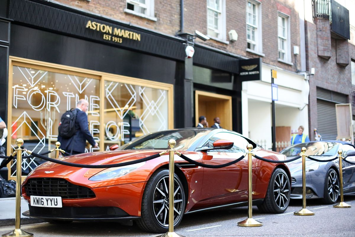 Aston Martin Is Shopping for Expensive Junk