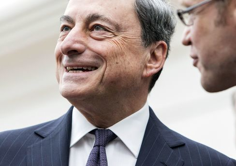 European Central Bank President Mario Draghi And Key Speakers At SUERF Money And Finance Forum