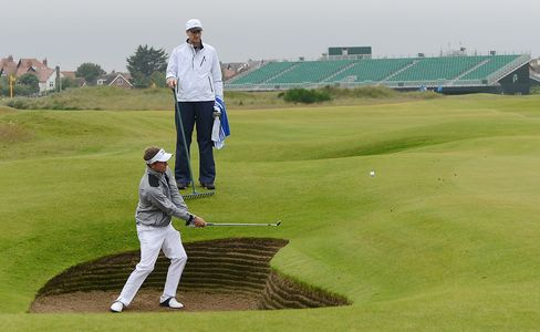 British Open Golfers Face Pressure to Be Precise From First Tee