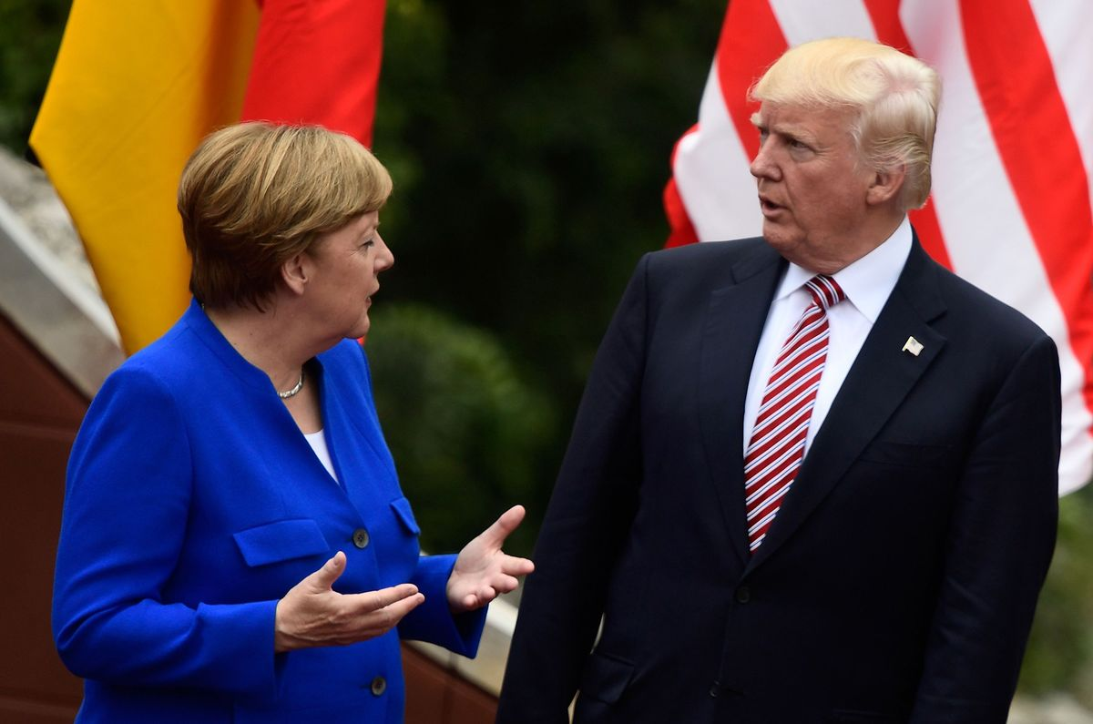 Merkel Reaches Out to Trump With Pledge to Work for G-20 Unity