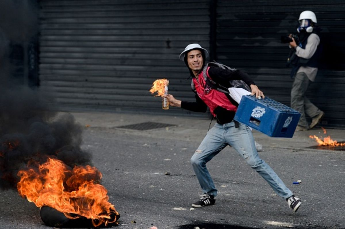 Opinion | Venezuela's Future Won't Be Settled in the Streets
