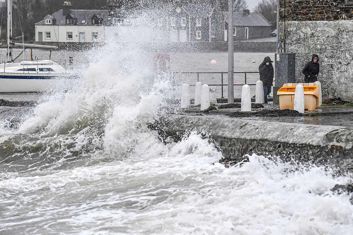 U.K. Faces Another Day With Fierce Storm Dennis
