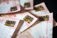 Chinese Yuan, Hong Kong Dollar and U.S. Dollar Banknotes