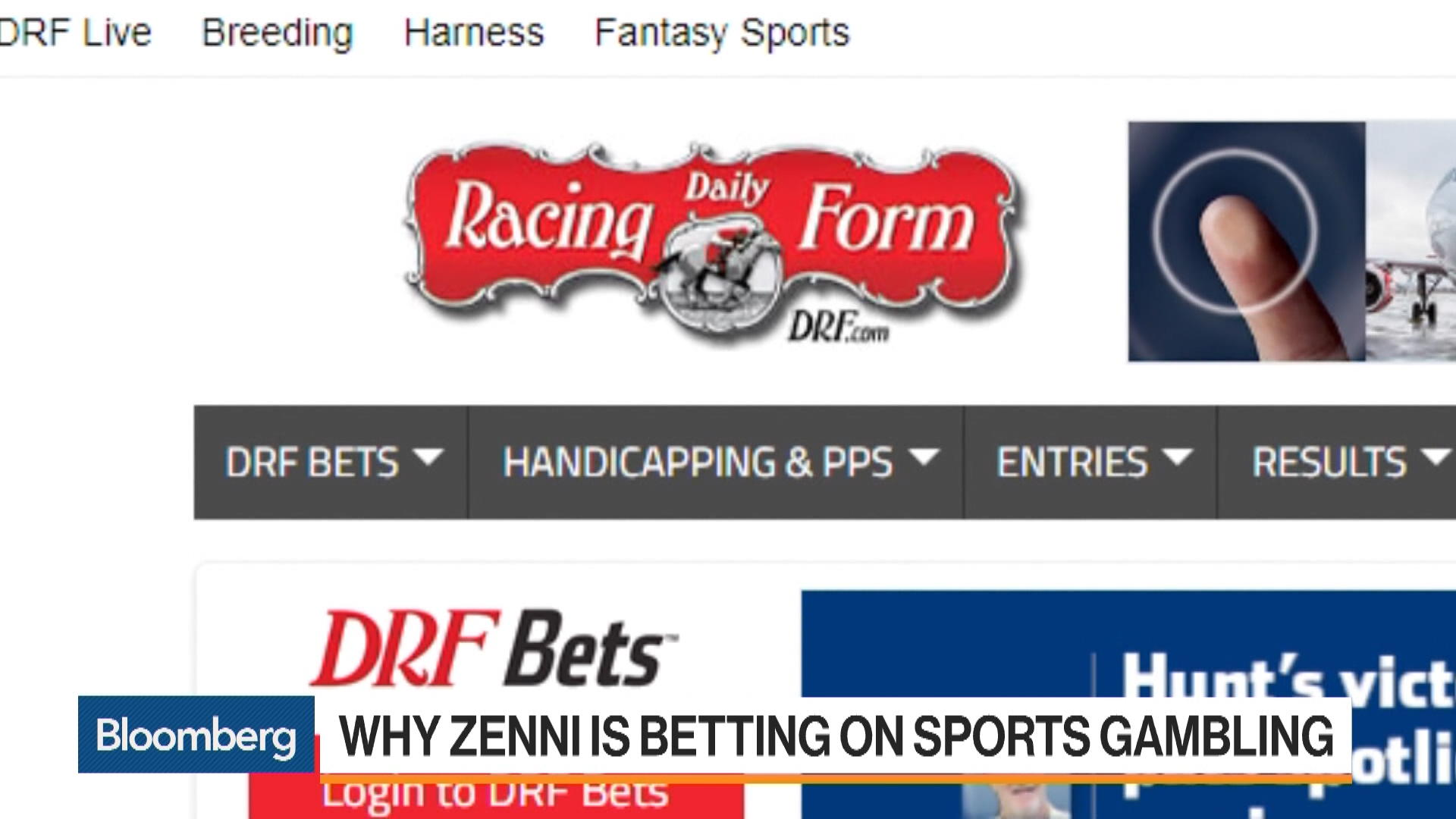 Why z capitals zenni is betting on sports gambling bloomberg falaconquin