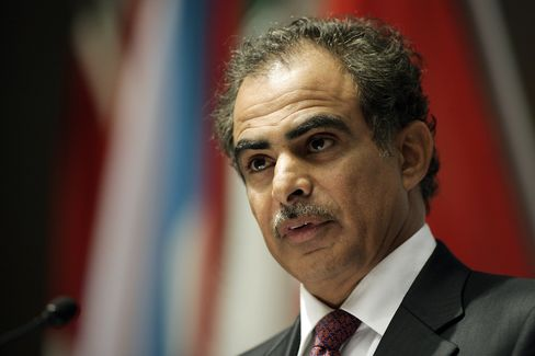 Oman's Oil Minister Mohammed Al-Rumhy