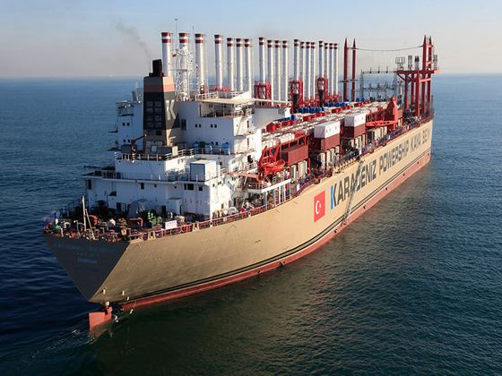 Turkish Firm Warns Lebanon It May Cut Floating Power Plants