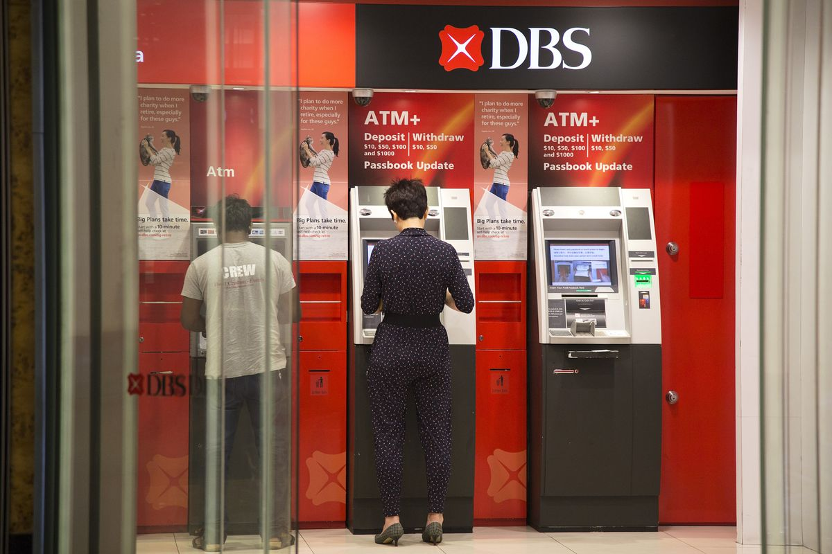 DBS to Combine Digital Banking With Physical Presence, CEO Says