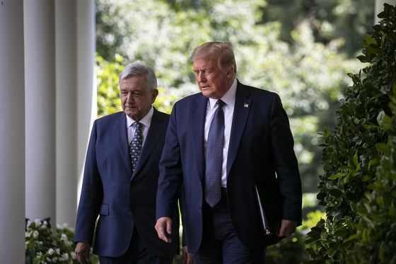Trump Talks Up Ties With Mexico's Leader in Bid to Cut Biden's Latino Lead