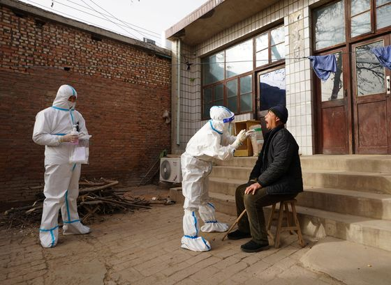 China Sees First Covid Death in 9 Months as Outbreak Swells