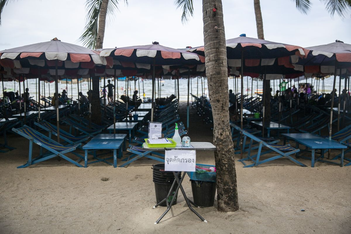 Thai Beaches Won't Reopen Fully Until Vaccines Become Available