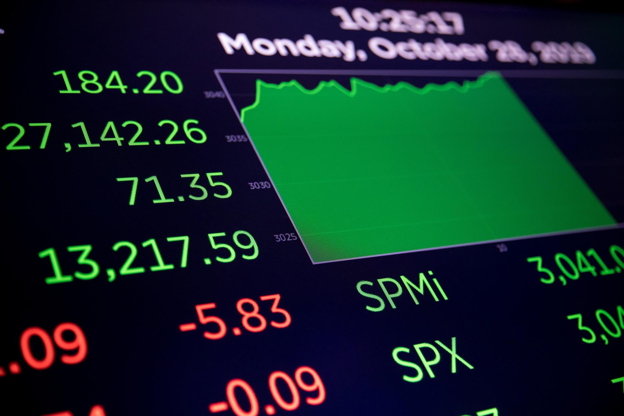 【米国株・国債・商品】株価指数は最高値、国債下落-貿易合意を楽観 - Bloomberg