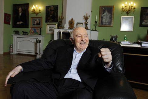 Former Georgian President Eduard Shevardnadze at Home in 2010