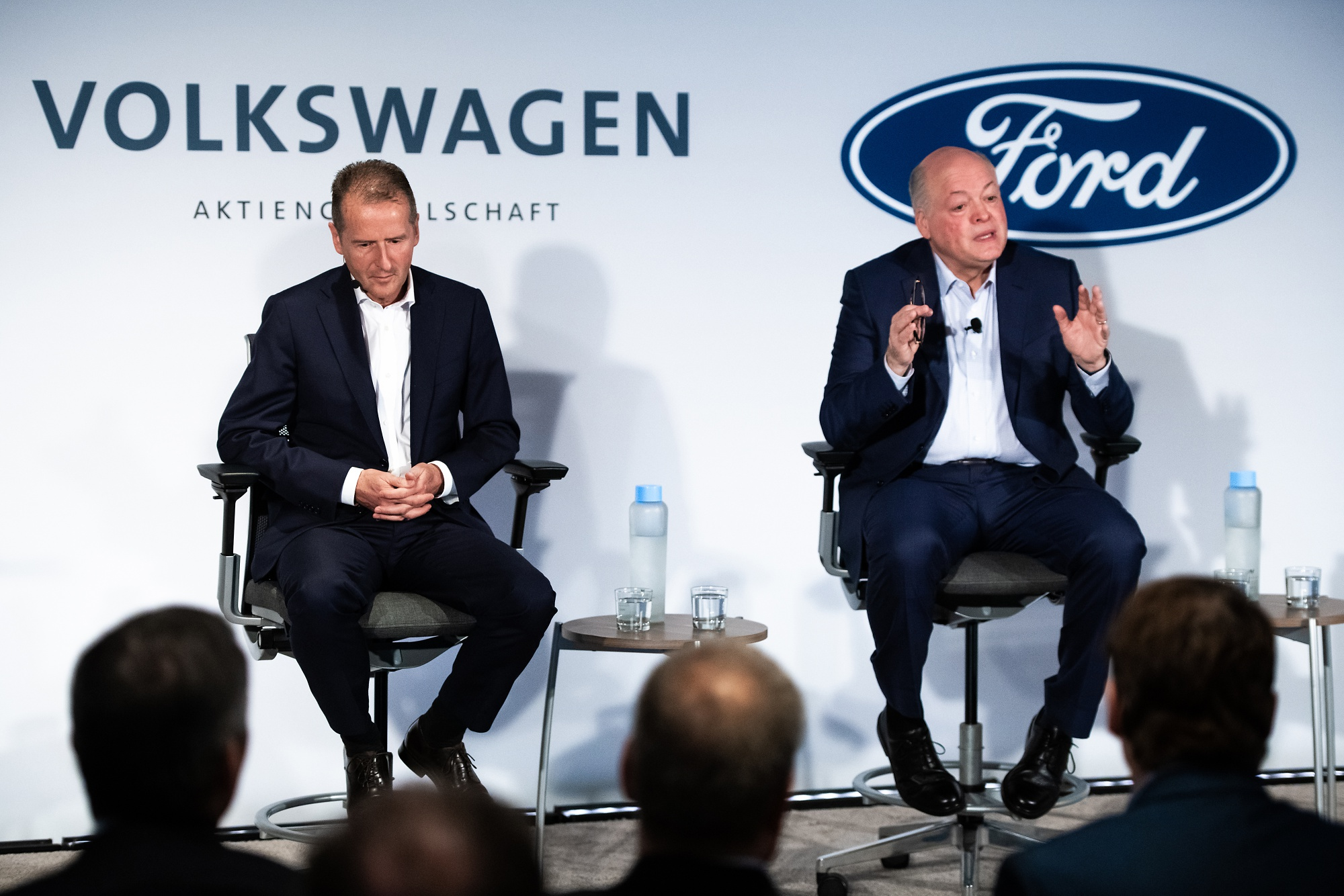 Volkswagen And Ford Extend Collaboration To Electric, Self-Driving Cars