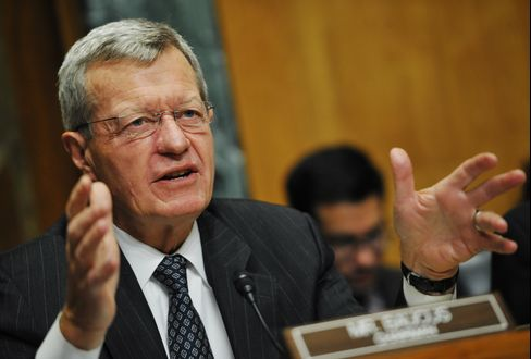 Senate Finance Chairman Max Baucus