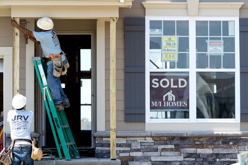 Sales of New U.S. Homes Climbed in July to Match Two-Year High