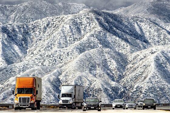 It's Snowing in Malibu? Rare Cold Blast Descends on Los Angeles