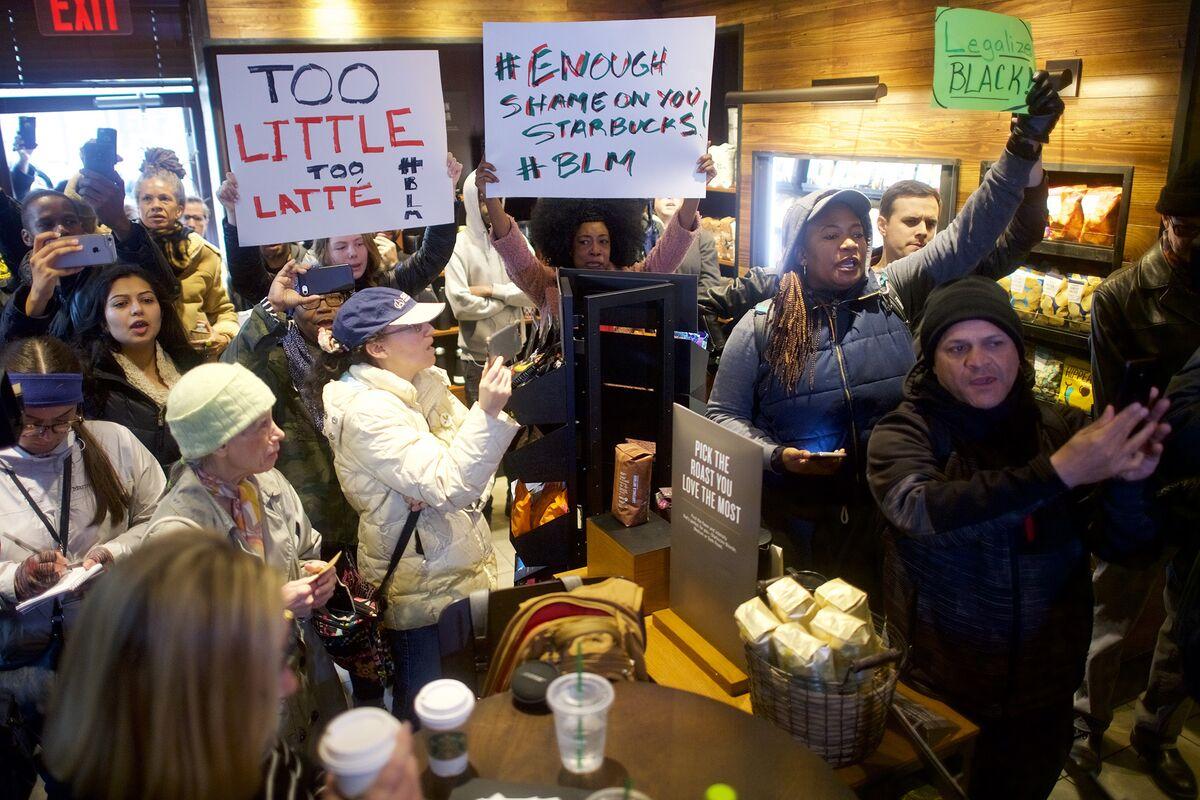Starbucks to Temporarily Shut 8,000-Plus Cafes for Bias Training