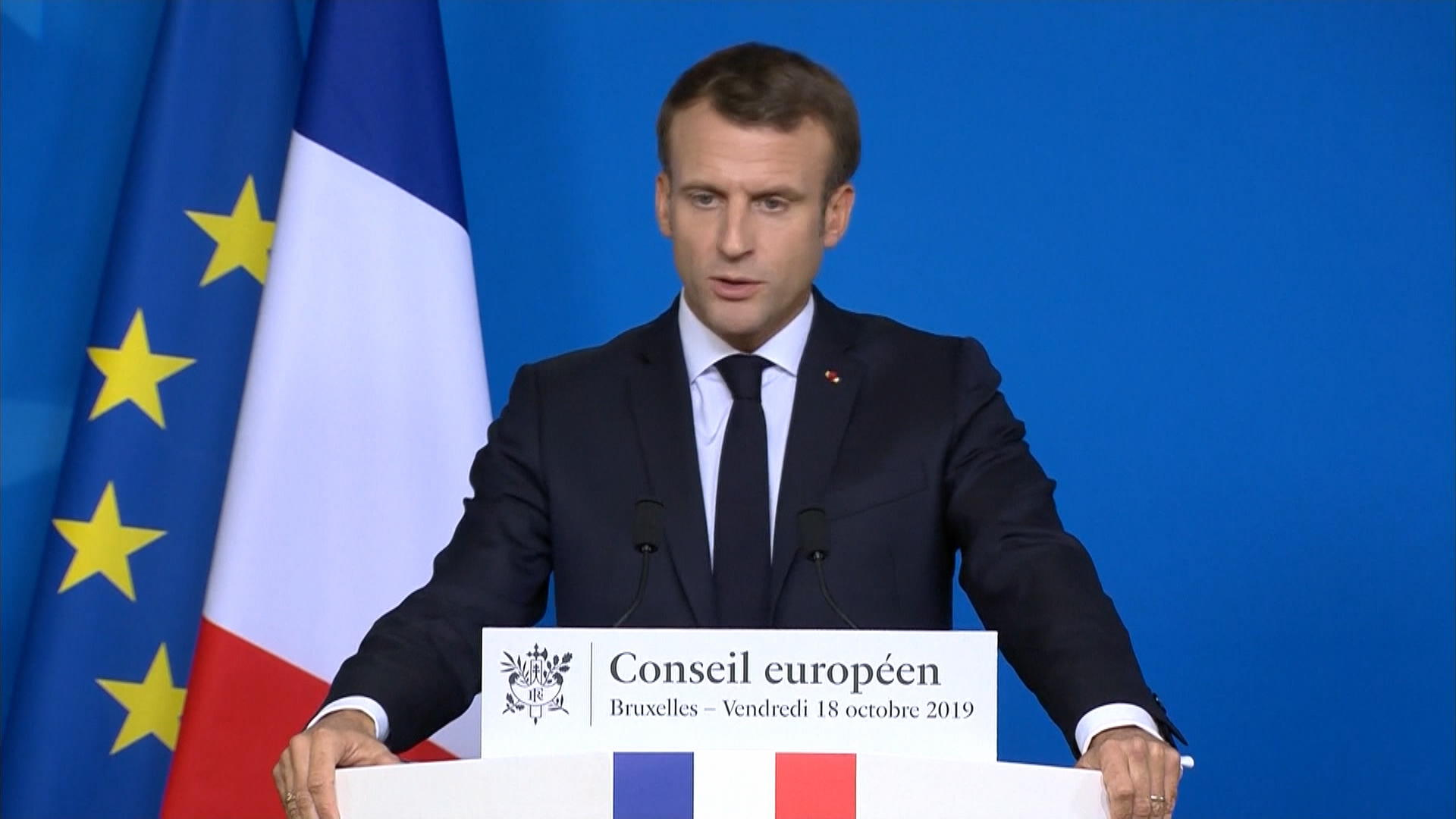 Macron: U.K. Must Not Get a New Delay if Parliament Vote Fails