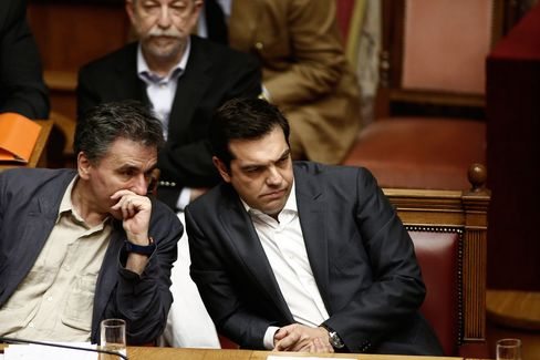Tsipras returns to the Greek parliament on Wednesday to seek support from opposition parties on measures that parts of his own party won't accept