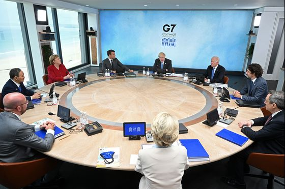 G-7 Haggles Over Strong U.S. Push to Counter China's Clout
