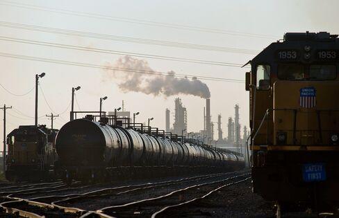 Oil Industry Beats Buffett in Railroad Investments Surge