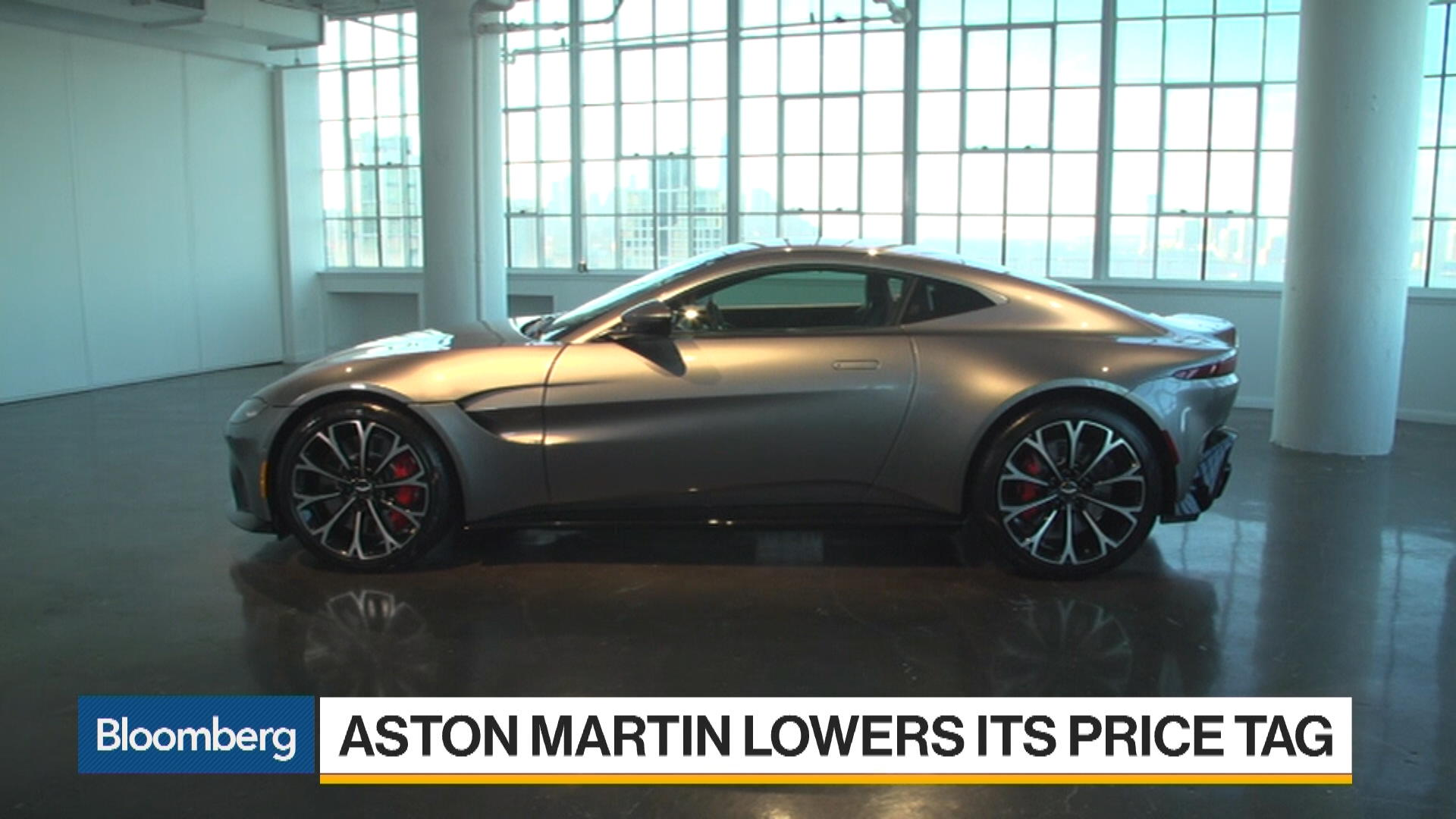 Aston Martin Unveils The Vantage At Bloomberg - Aston martin vanquish price usa