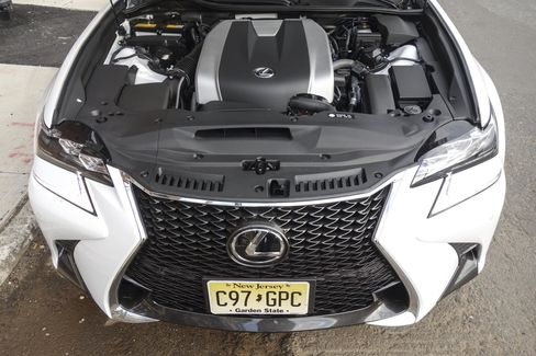 The GS 350 F Sport has a 3.5-liter V6 engine that gets 311 horsepower and 280 pound-feet of torque.