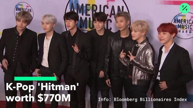 BTS Producer Bang Si-hyuk Has $780 Million K-Pop Fortune