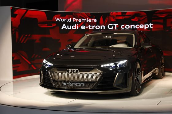 Audi Plans Compact Electric Crossover to Broaden Tesla Assault