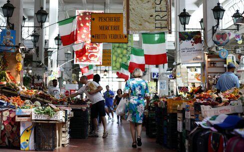 Italian, Spanish Bonds Fall