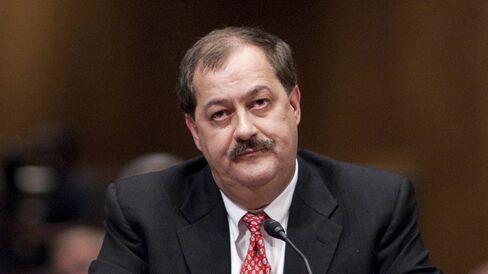 Massey CEO Don Blankenship At Senate Hearing On Mine Safety