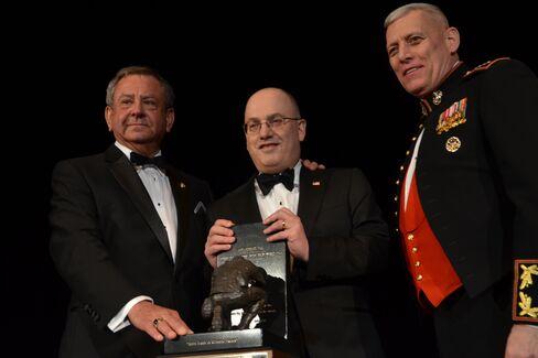 Jim Kallstrom, Steve Cohen and General John M. Paxton