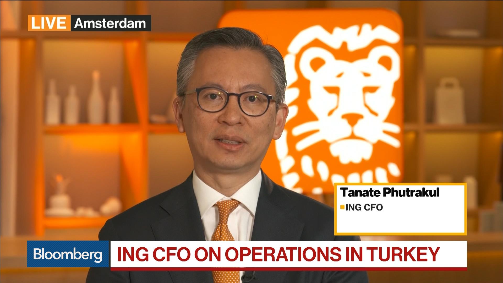 ING CFO on 2Q Earnings, M&A, Turkey, Money Laundering