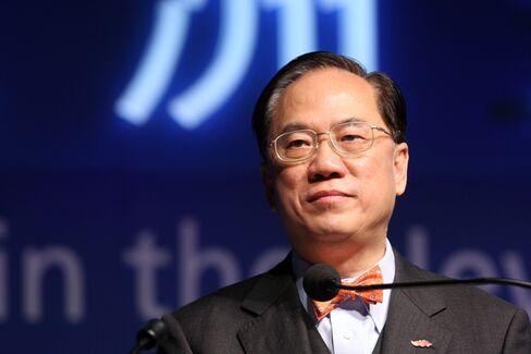 Hong Kong Tsang pins reputation on TV debate on democracy