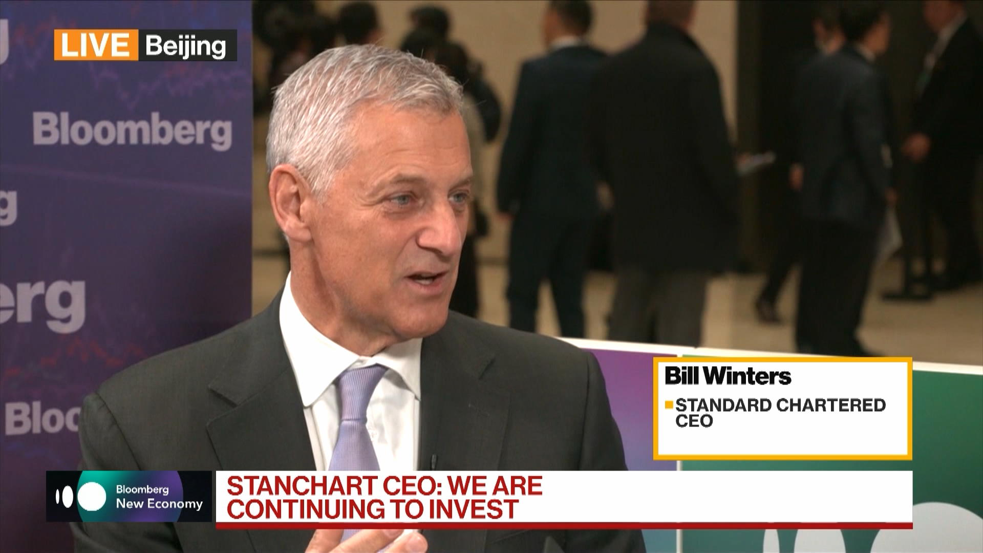 Bill Winters, Standard Chartered CEO, on China Economy, Belt & Road, Trade War