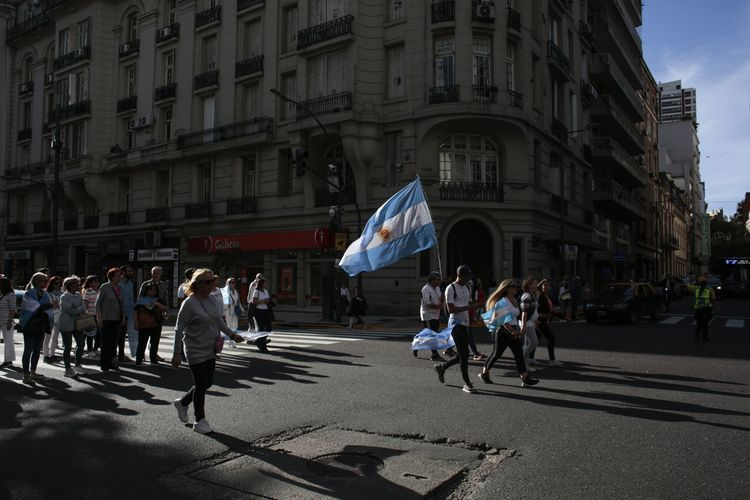 President Macri Holds Last Rally Ahead Of Elections