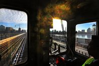Ode to the View of Boston From a Red Line Train Crossing the Longfellow Bridge