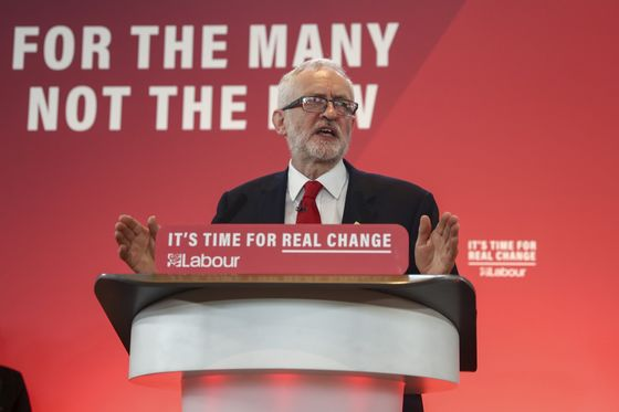 The City of London Is Gambling on a Jeremy Corbyn Election Defeat