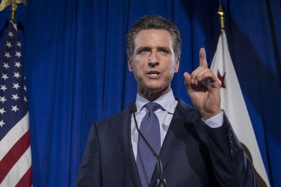 California Governor Proposes Digital Dividend Aimed at Big Tech