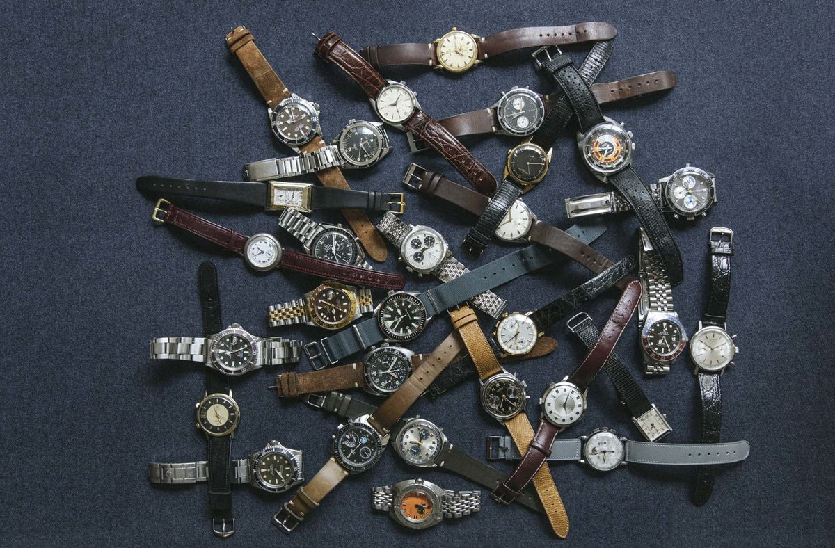 the small dealers shaping the vintage watch business bloomberg