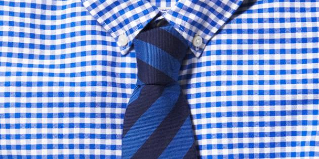 Checks Balances A Guide To Matching Ties With Gingham