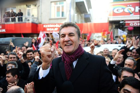 Republican People's Party Mayor Candidate Mustafa Sarigul