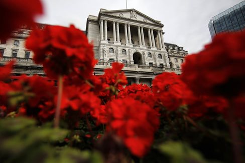 Views Of The Bank Of England As Policy Setter Prepares To Release Rates Decision