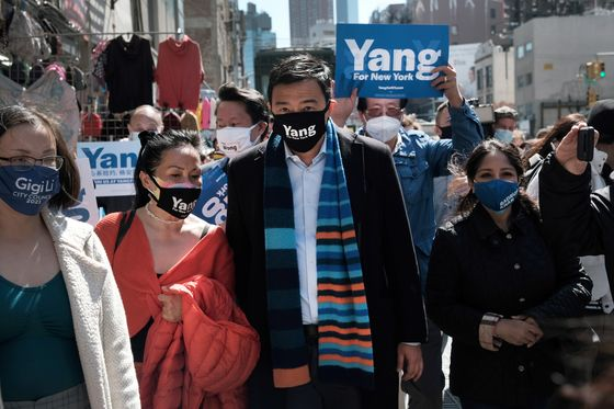 Andrew Yang Vows to Better Tackle Anti-Asian Violence in NYC