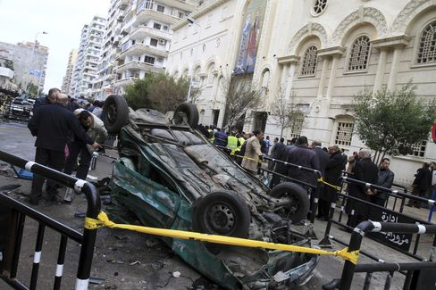 Egypt Detains 17 After Deadly Blast