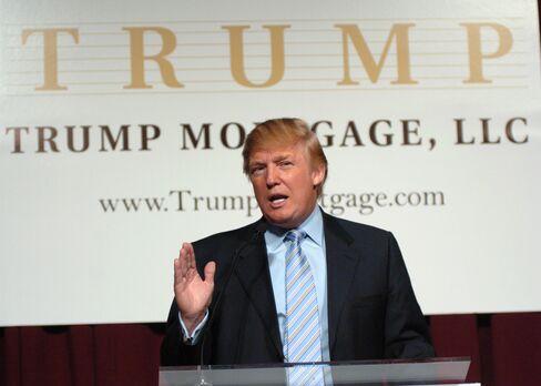 Trump introducing Trump Mortgage LLC in 2006.